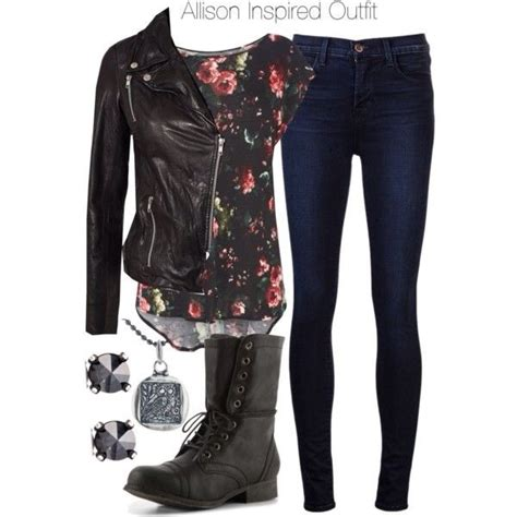 jeans shirt allison argent outfit floral jacket