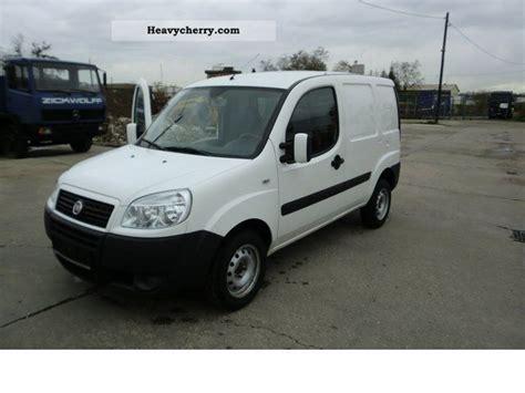 Fiat Doblo Cargo 2008 Box-type Delivery Van Photo And Specs