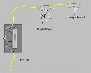 Wiring 2 Outdoor Lights With One Switch  Existing