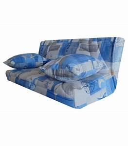 Housse Clic Clac 140x190 : housse banquette bleue clic clac 140x190 pas cher ~ Teatrodelosmanantiales.com Idées de Décoration