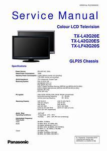 Manual De Servi U00e7o Tv Panasonic Tx