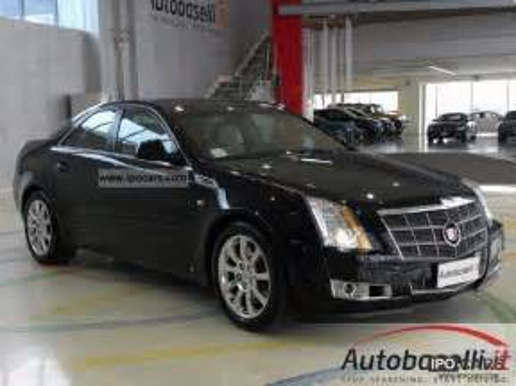 cadillac cts awd   luxury sports automatica