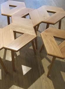 Pouf En Bois : tabouret design en bois par alex mac donald ~ Teatrodelosmanantiales.com Idées de Décoration