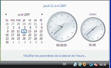 horloge pour bureau windows 7 afficher horloge sur bureau 28 images comment afficher