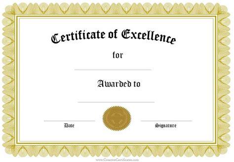 certificate template free formal award certificate templates customize