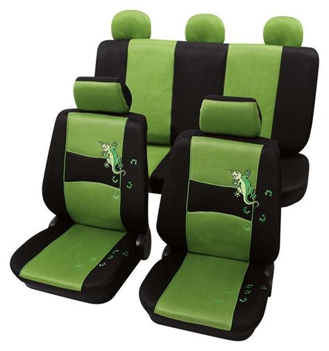 housse siege polo stylish green black design seat covers vw beetle