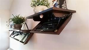 Hidden Gun Cabinet Shelf - WoodWorking Projects & Plans