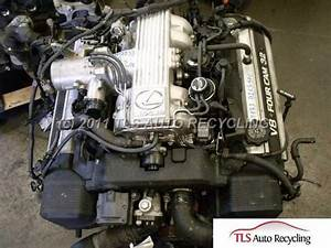 1992 Lexus Ls 400 Engine Assembly