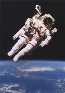 Man In Space - A Spacewalk Image Gallery