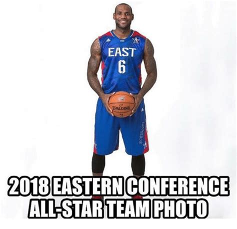 All Star Memes - east spalding 2018easternconference all star team photo
