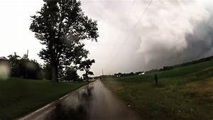 Funnel Cloud Shelby Ohio  Tornado Warned Supercell Ashley