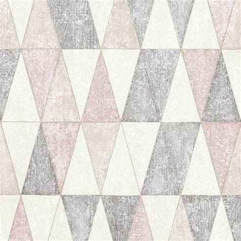 muriva ugepa wallpaper jarvis geometric pink 92703 wonderwall by nobletts
