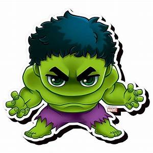 Avengers Hulk Chibi Funky Chunky Magnet - Aquarius - Hulk ...