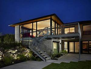 modern contemporary house plans exposed concrete style With architecture modern contemporary home design