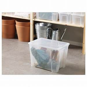 Ikea Boxen Samla : samla box with lid transparent ikea ~ Watch28wear.com Haus und Dekorationen