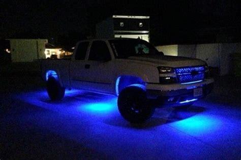 light strips for trucks recon 264700bl 12 quot flexible blue led underbody kit