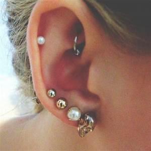 40  Latest Ear Piercings Ideas And Designs
