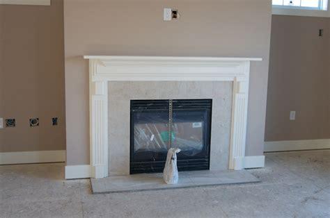 granite tile fireplace surround installation designs