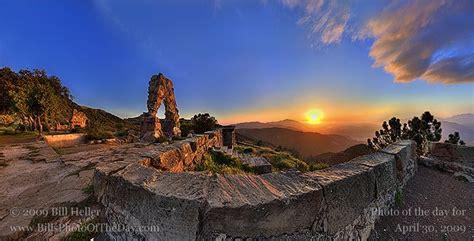 storybook castle sunset golden sunset light  knapps