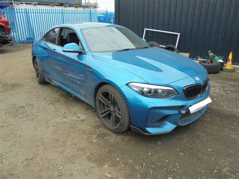 used 2018 bmw m2 for sale at online auction raw2k
