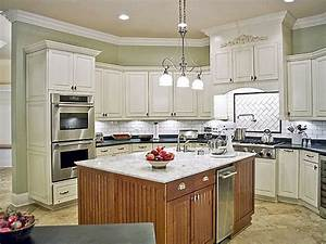 best white paint for kitchen walls peenmediacom With kitchen colors with white cabinets with wall art removable