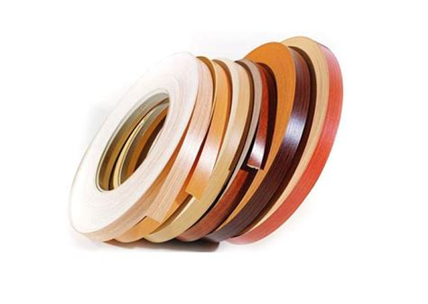 edge banding wood veneer pvc melamine polyester