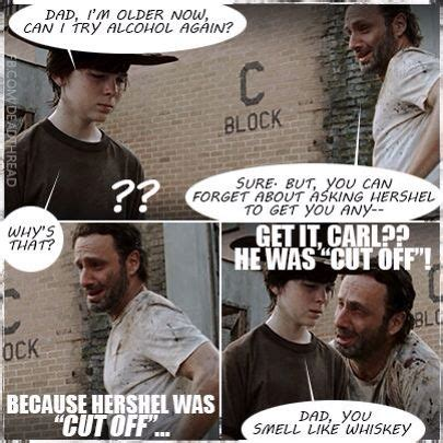 funny walking dead quotes