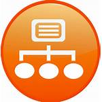 Intranet Sharepoint Structure Clipart Vector