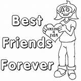 Friendship Coloring Pages Friends Friend Printable Forever Quotes Colouring Heart Ever Bff Sheets Cards Quotesgram Adult Usage Any Popular Coloringpages sketch template