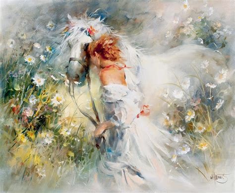 White Dream Painting By Willem Haenraets