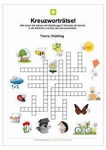 Ein Kunstleder Kreuzworträtsel : ein kostenloses kreuzwortr tsel zum fr hling f r kinder schule ~ Eleganceandgraceweddings.com Haus und Dekorationen