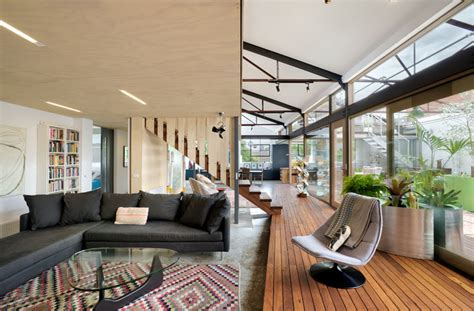 Zen Architects Transformed A 1960's Warehouse Into A
