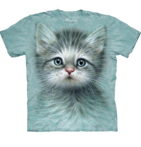 kinder  shirt katze mit blauen augen dedoles
