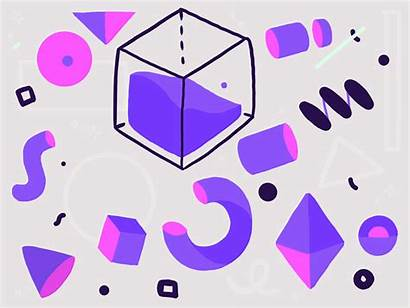 Shapes Random Discord Things Guy Geometric Dribbble