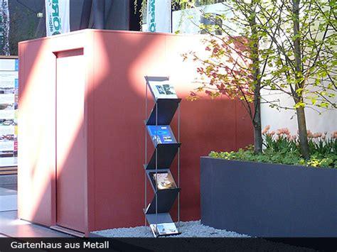 Fmh Metall Gartenhaus by Fmh Aktuelles