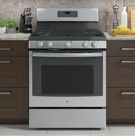 ge jgbsejss   freestanding gas range   sealed burners  cu ft oven capacity