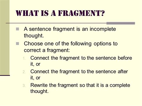 Grammar Boot Camp Obstacle Course Fragments, Runons, Comma Splices  Ppt Video Online Download