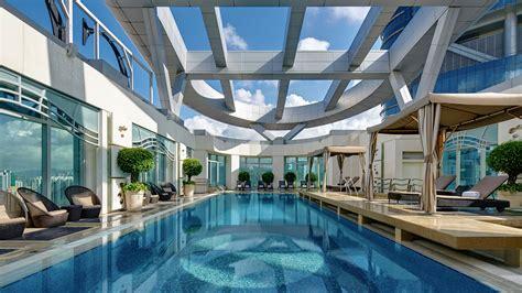 rooftop heated swimming pool cordis hong kong hong kong  star hotel