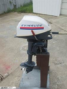 Armslist  Trade  Evinrude 4hp Outboard Motor