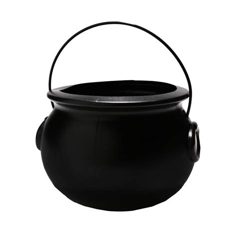 butterfly favors 7 1 4 quot black plastic cauldron