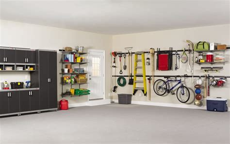 Garage Organization Fast Track by Rubbermaid Fasttrack Garage Organization System