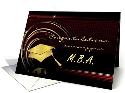 graduation masters degree mba card