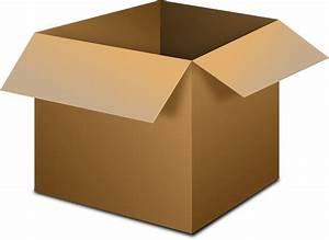 Free Vector Graphic  Box  Open  Cardboard Box  Cardboard