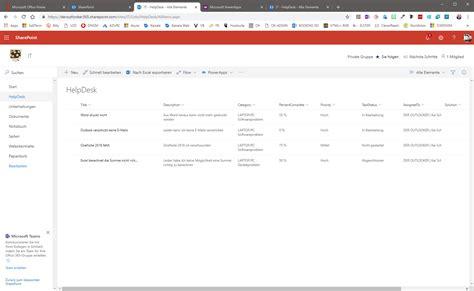 Office 365 Help Desk by Office 365 Die Powerapp Help Desk Installieren