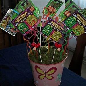 Homemade Christmas Gifts for Family Lottery Bouquet