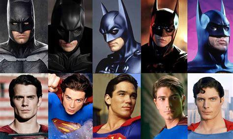 la historia de batman elige al mejor batman y superman de