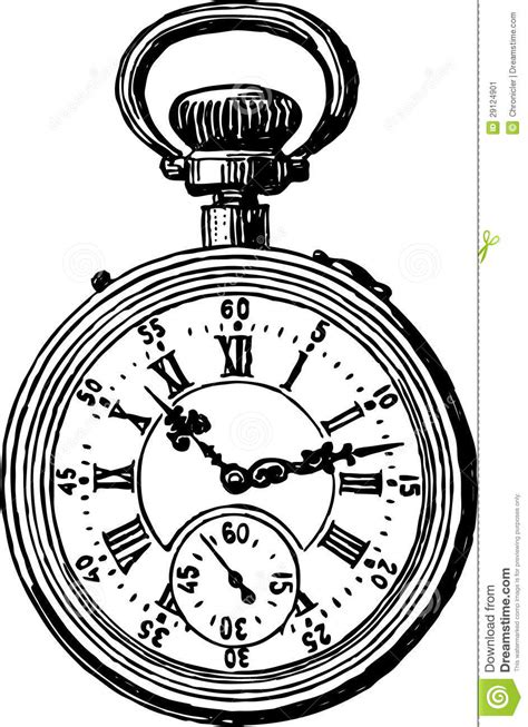 templates zapato viejo reloj de bolsillo antiguo imagen de archivo imagen 29124901