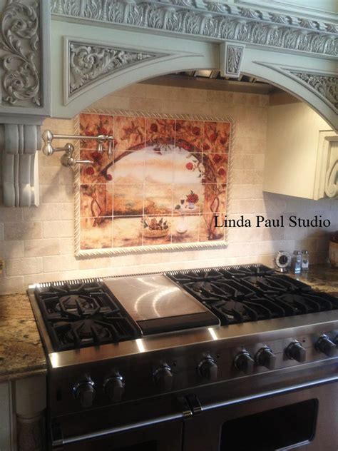 Decorative Tile Inserts   Metal Accent Tiles and Overlays