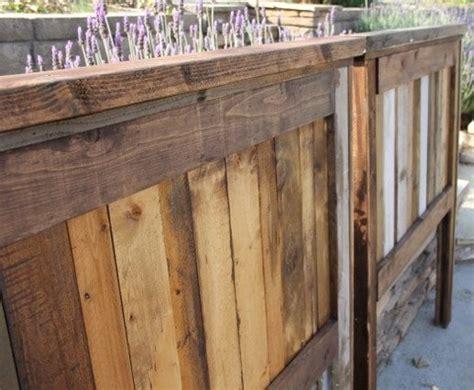 rustic wood headboards farmhouse custom headboards reclaimed wood  foo foo la la rustic