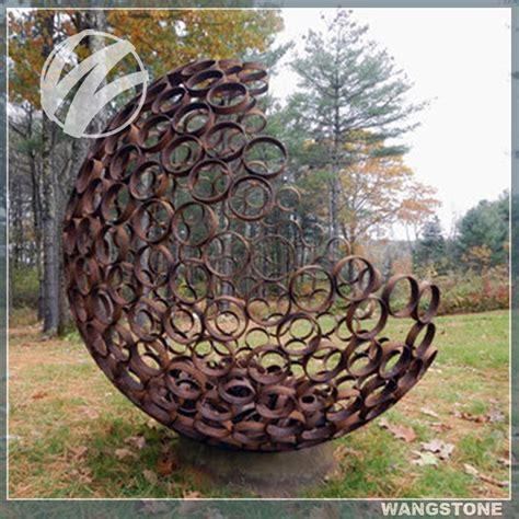 Garden Decoration Application by Australia Large Hollow Metal Sphere For Garden